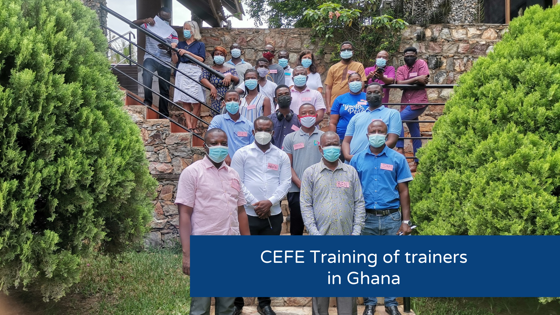 CEFE Training of Trainers in Ghana
