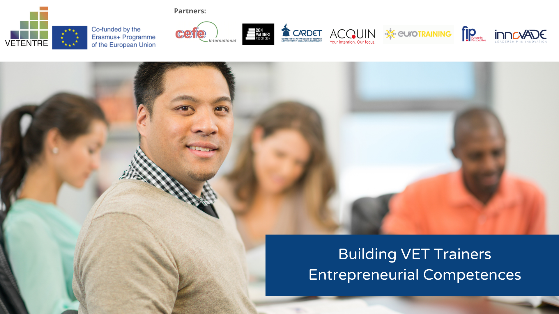 Building VET Trainers Entrepreneurial Competence